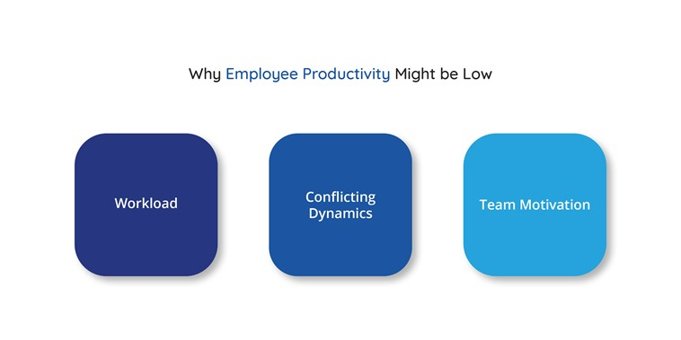 Why employee productivity might be low